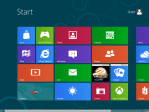 picture of Windows 8 start menu