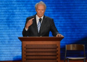 Picture of Clint Eastwood at the Republican National Convention
