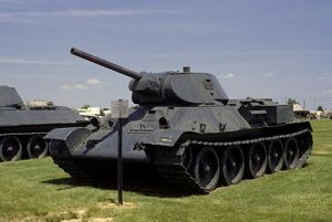 Picture of Russian T-34 tank
