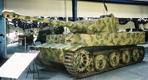 picture of a Tiger Tank