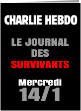 graphic from Charlie Hebdo web page
