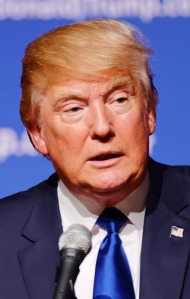 Donald Trump , presumptive Republican Candidate for President of The United States